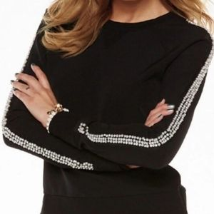 Faux Pearl/Rhinestone Juicy Couture Top
